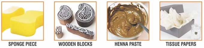 Henna Blocks Designing